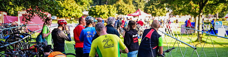 10-Freunde-Triathlon Frankfurt