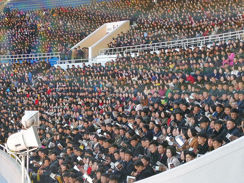 Viel Publikum im Stadion