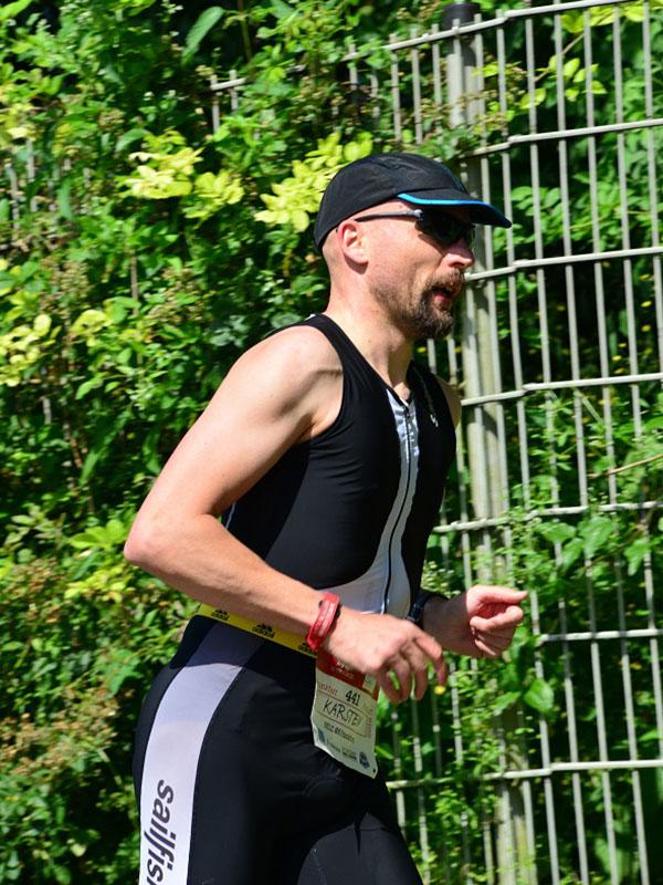Karsten - konzentriert beim Lauf
