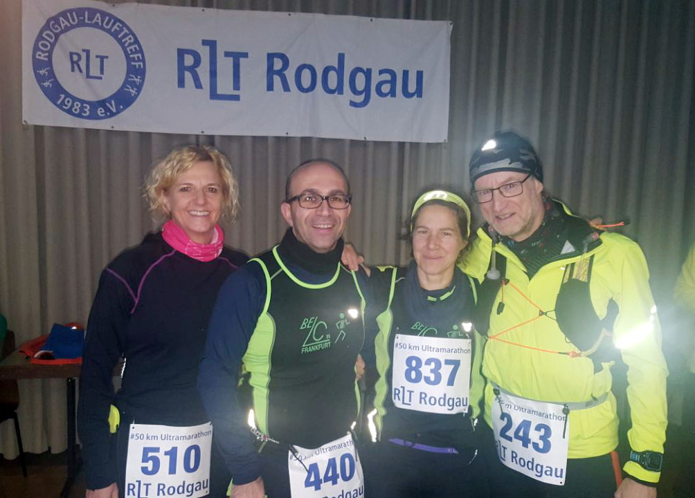 Starter vom Belc: Ute, Pasquale, Ana und Dirk