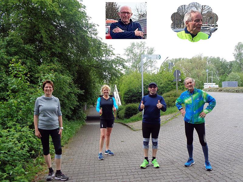 Das Team unserer Marathonstaffel