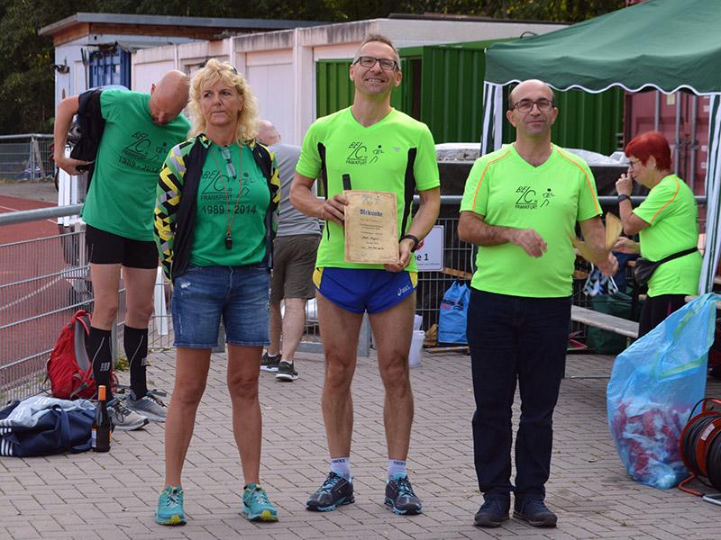 Mark war mit 41:44 min der schnellste Belc-Läufer über die 10 Kilometer