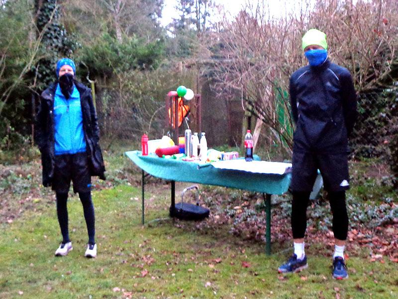 Corina und Wolfgang in Vorbereitung