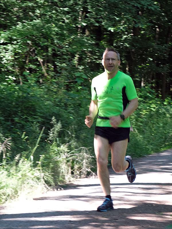 Mark auf der 10-km-Strecke