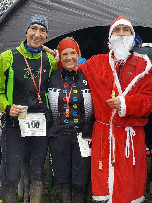 Ute und Roberto mit Nikolaus