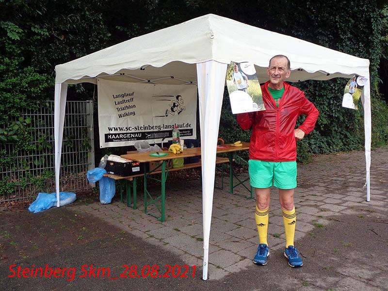 Alfred: Die 5 km in Steinberg sind geschafft!